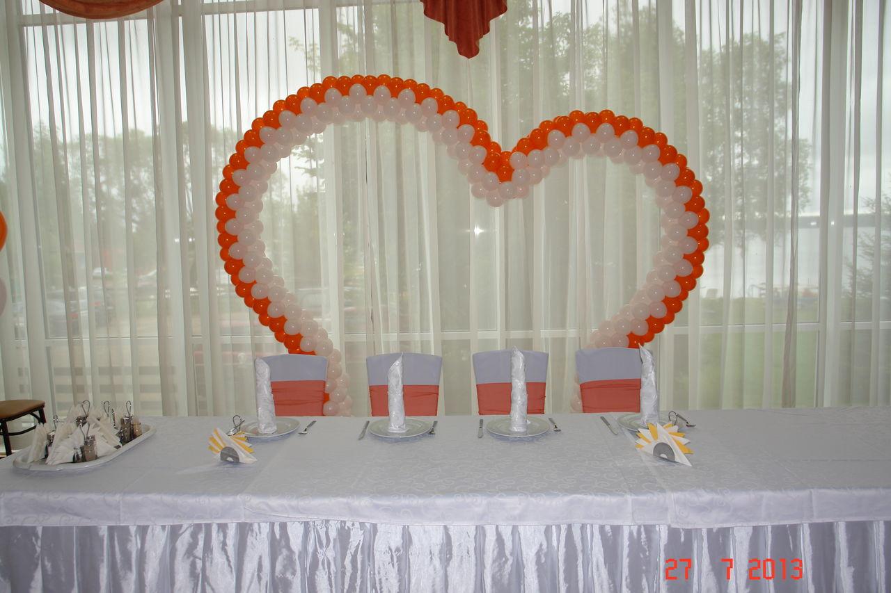 Свадебная арка из шаров своими руками фото